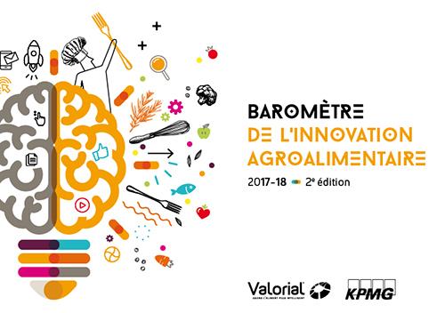 Couv 2e Barometre InnovationIAA Valorial-KPMG 2018