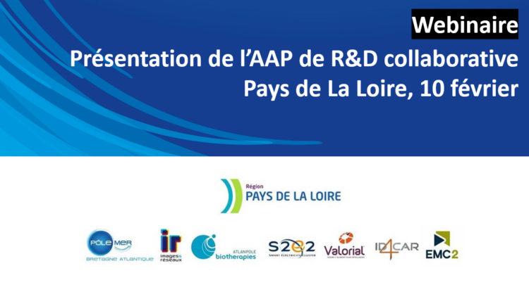 bandeau webinaire AAP R&D Collaborative 022020